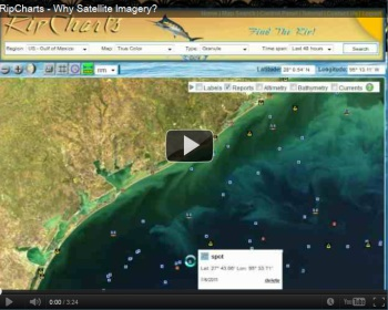 Watch a video tutorial to learn why satellite imagery can provide beneficial information when planning a trip